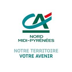 Logo Crédit Agricole Nord Midi-Pyrénées